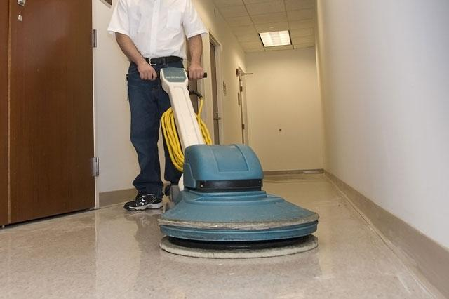 janitorial work for medical centers